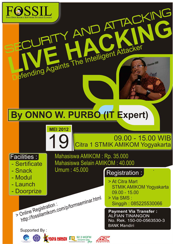 Seminar Security & Attacking; Live Hacking 1